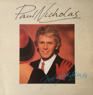 Paul Nicholas ‎- Just Good Friends (LP) (EX/EX)